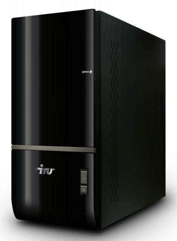 IRU Home 720,  AMD  Phenom II X6  1055T,  4Гб, 500Гб,  ATI Radeon HD 5670 - 1024 Мб,  DVD-RW,  CR,  Windows 7 Home Basic,  черный