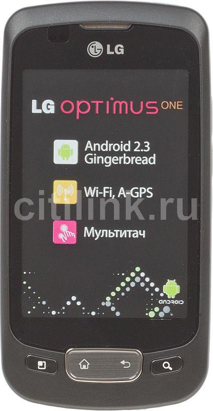 Смартфон LG Optimus One P500  черный