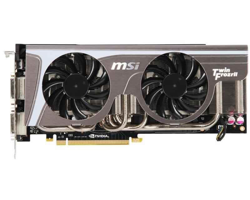 Видеокарта MSI GeForce GTX 580,  1.5Гб, GDDR5, Ret [n580gtx-twin frozr ll]