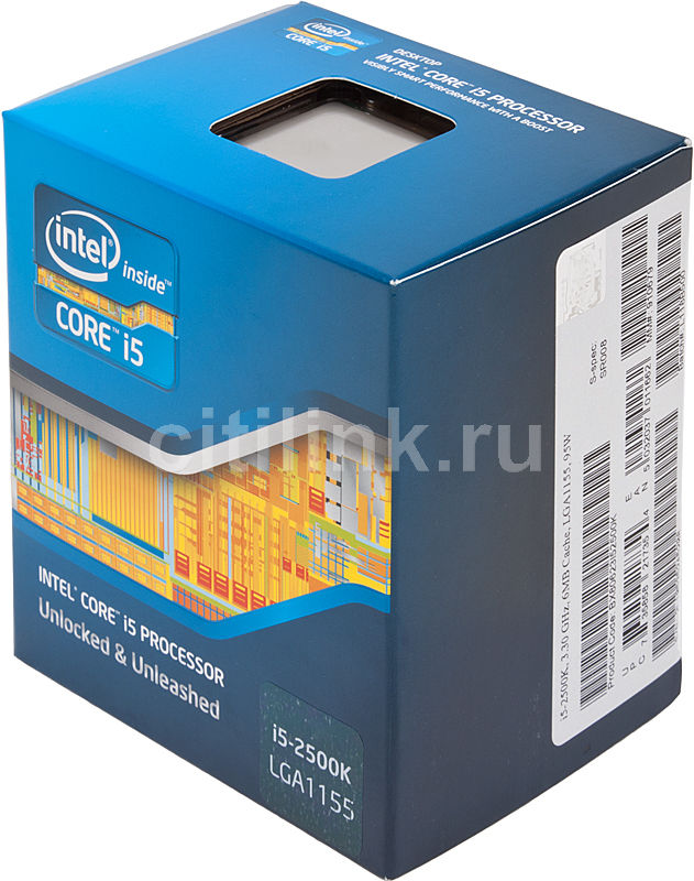 Процессор INTEL Core i5 2500K, LGA 1155 BOX [bx80623i52500k s r008]