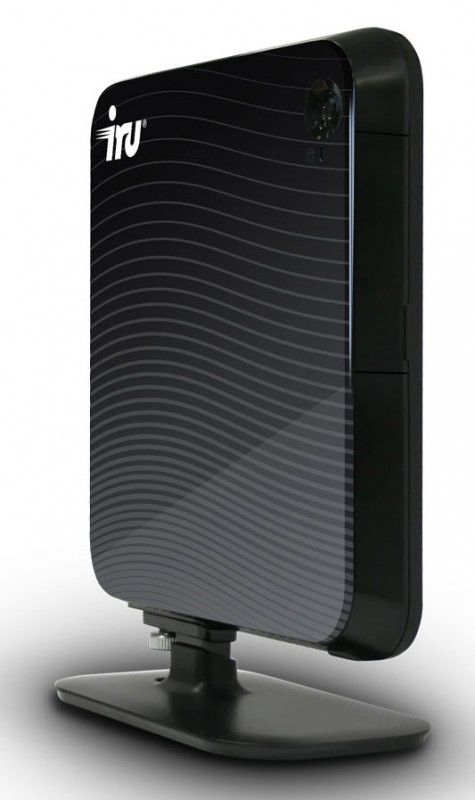 IRU 115,  Intel  Atom  D510,  DDR2 1Гб, 250Гб,  nVIDIA GeForce GT218,  без ODD,  MeeGo,  черный