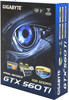 Видеокарта GIGABYTE nVidia  GeForce GTX 560Ti ,  1Гб, GDDR5, OC,  Ret [gv-n560oc-1gi] вид 7