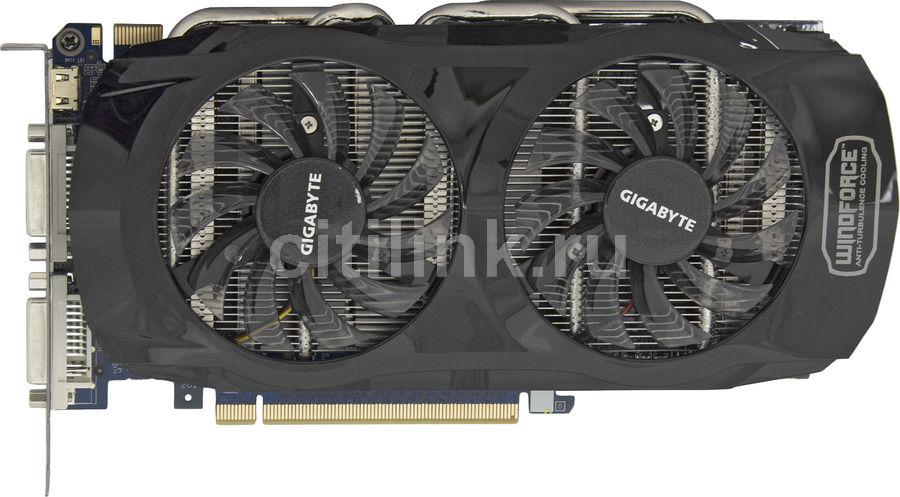 Видеокарта GIGABYTE nVidia  GeForce GTX 560Ti ,  1Гб, GDDR5, OC,  Ret [gv-n560oc-1gi]