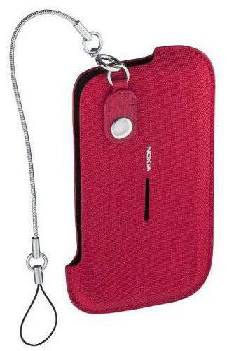Чехол (футляр) NOKIA CP-506, для Nokia E5, красный