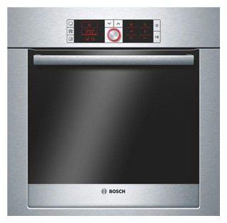 Духовой шкаф BOSCH HBA36T650,  серебристый