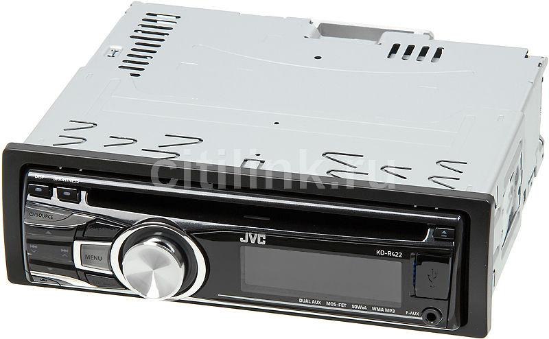 Автомагнитола JVC KD-R422,  USB