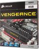 Модуль памяти CORSAIR Vengeance CMZ8GX3M2A1600C8 DDR3 -  2x 4Гб 1600, DIMM,  Ret вид 3