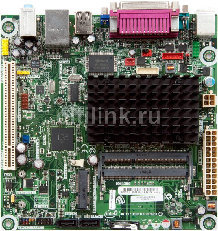Материнская плата INTEL D525MWV mini-ITX, bulk