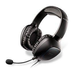 Наушники с микрофоном CREATIVE Sound Blaster 3D Tactic Sigma,  70GH014000004,  мониторы, черный
