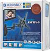 """Кронштейн для телевизора Kromax ASTRA-9 серый 15""""-32"""" макс.15кг настенный поворот и наклон [20004] вид 6"""