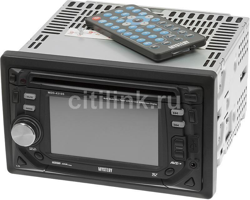 Автомагнитола MYSTERY MDD-4310S,  USB,  SD/MMC