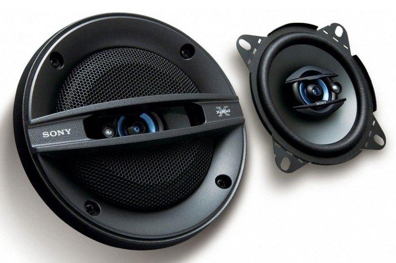 Колонки автомобильные SONY XS-F1037SE,  коаксиальные,  140Вт