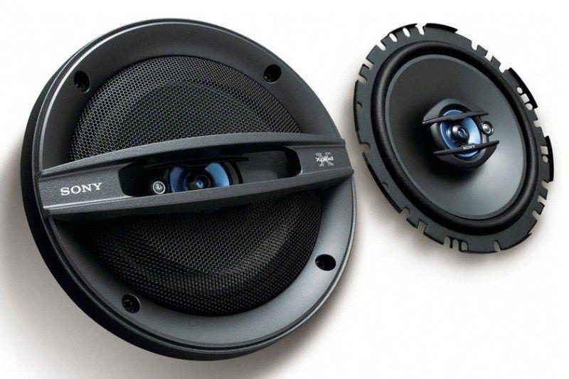 Колонки автомобильные SONY XS-F1737SE,  коаксиальные,  200Вт,  комплект 2 шт.