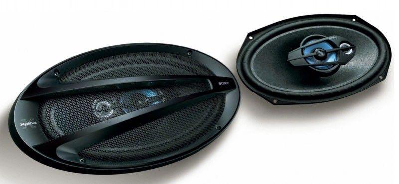 Колонки автомобильные SONY XS-GTF6120,  коаксиальные,  400Вт