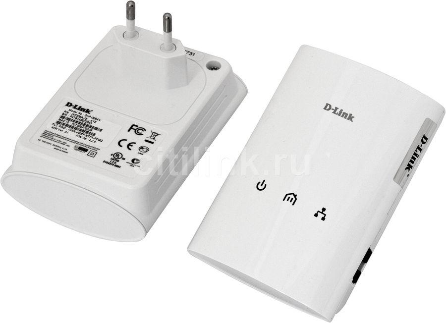 Сетевой адаптер PowerLine D-LINK DHP-307 AV Ethernet [dhp-307av]