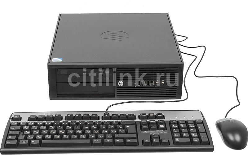 Компьютер  HP Pro 4000,  Intel  Celeron  E3400,  DDR3 2Гб, 500Гб,  Intel GMA 4500,  DVD-RW,  Free DOS,  черный [xy088es]