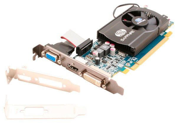 Видеокарта Sapphire PCI-E ATI HD5550 1024Mb DDR3 HDMI/DVI-I/DP (11170-01-10R) bulk [11170-xx-10r]