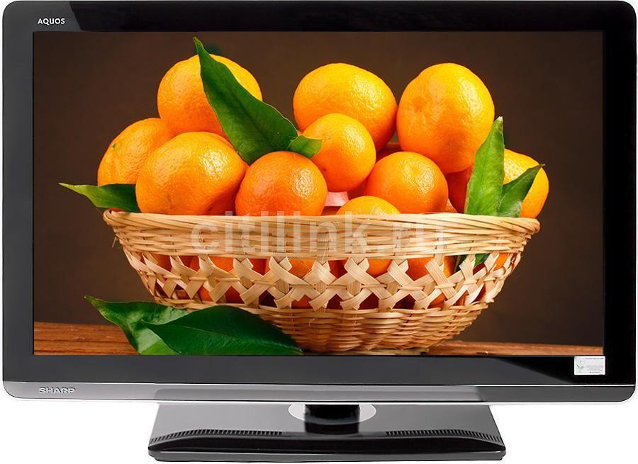 "LED телевизор SHARP LC32LE320RUBK  ""R"", 32"", FULL HD (1080p),  черный/ белый"