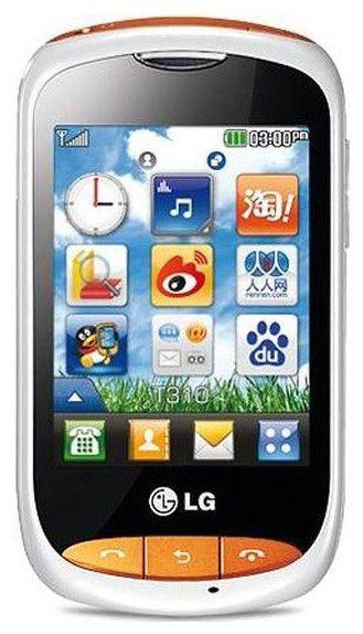 Мобильный телефон LG T310i  белый