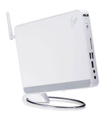 Неттоп  ASUS EeeBox PC EB1007,  Intel  Atom  D410,  DDR2 1Гб, 250Гб,  Intel GMA 3150,  без ODD,  CR,  Free DOS,  белый [90pe29a11212l0349c0q]