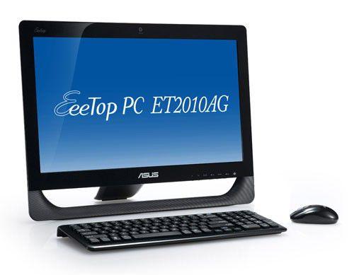 ASUS EeeTop PC ET2010AG,  AMD  Athlon II X2  250U,  DDR3 2Гб, 500Гб,  ATI Radeon HD 5470,  DVD-RW,  CR,  Free DOS,  черный [90pe3ea61118l0049c0c]
