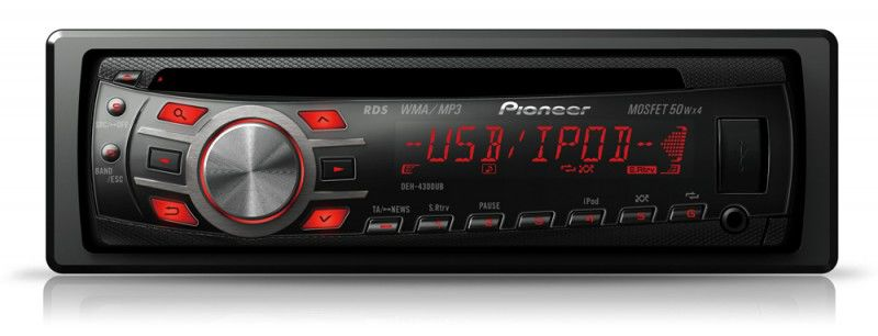 Автомагнитола PIONEER DEH-4300UB,  USB