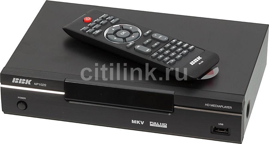Медиаплеер BBK NP102S,  черный