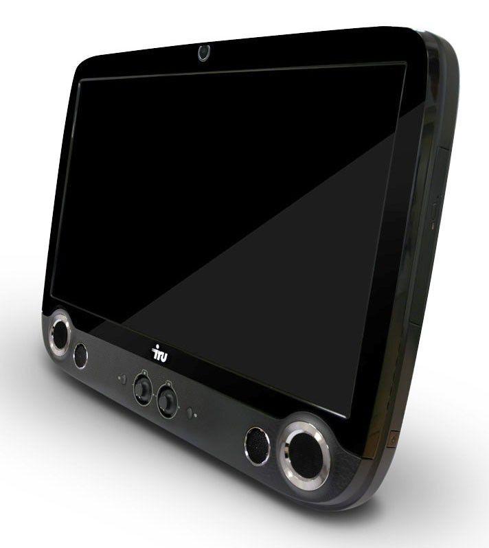 Моноблок IRU 301, Intel Core i3 370M, 4Гб, 1Тб, nVIDIA GeForce 310 - 512 Мб, DVD-RW, MeeGo, черный