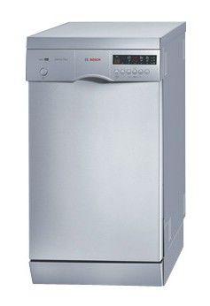 Посудомоечная машина BOSCH SRS45T78EU,  узкая, серебристая