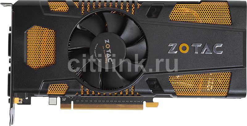 Видеокарта ZOTAC GeForce GTX 560Ti,  1Гб, GDDR5, OC,  Ret [zt-50302-10m]