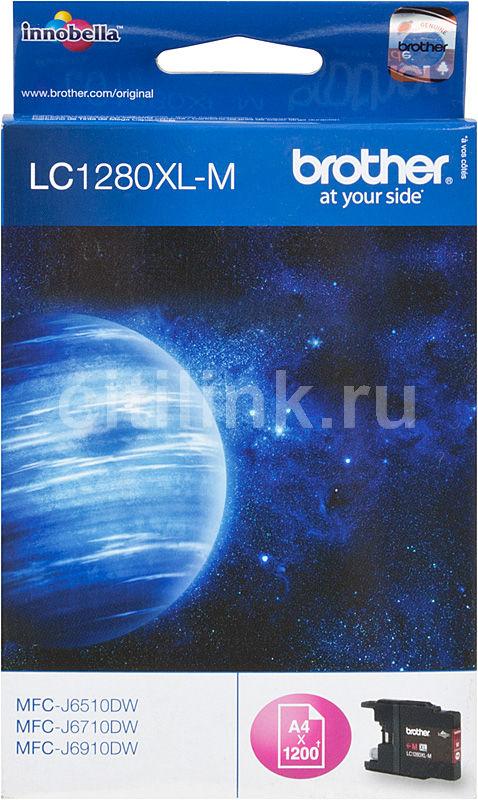 Картридж BROTHER LC1280XLM пурпурный