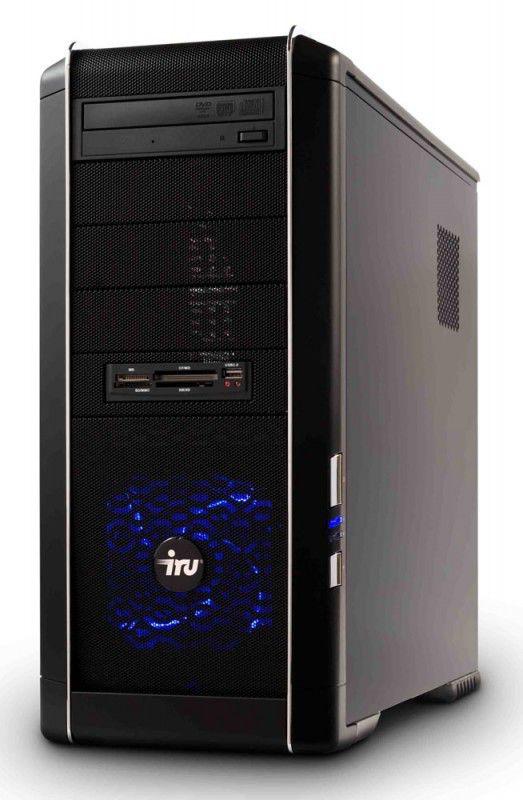 ПК iRU Home 710 i7-960/4096/ 1Tb/HD4550-512/DVD-RW/CR/W7-HB/black