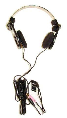 Наушники с микрофоном A4 T-100,  накладные, черный  [t-100-1]