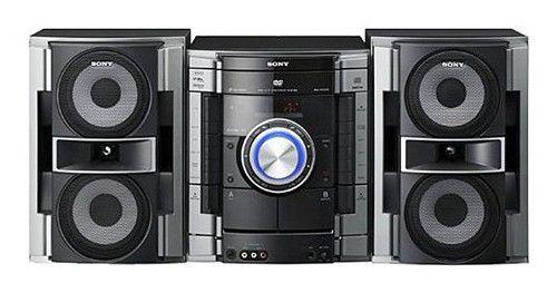 Музыкальный центр SONY MHC-RV222DL,  черный