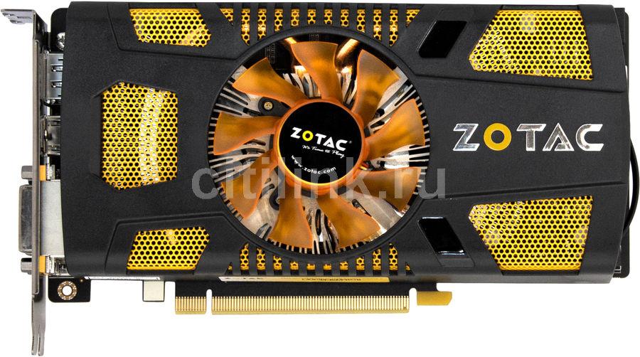 Видеокарта ZOTAC GeForce GTX 560Ti,  1Гб, GDDR5, Ret [zt-50301-10m]