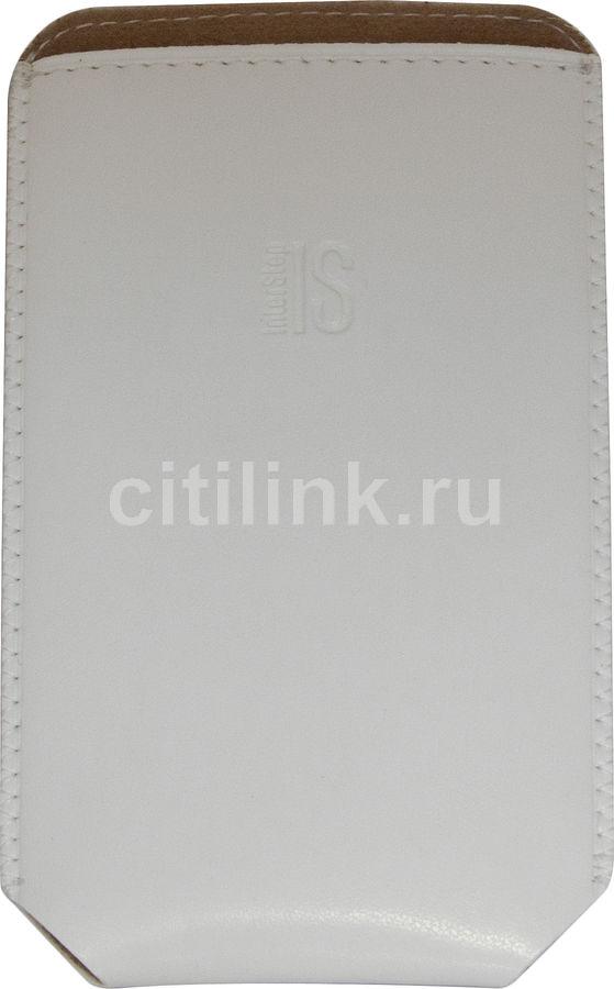 Чехол (футляр) INTERSTEP Pocket р90, белый [spct90-000000-h2003o-k100]
