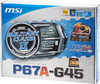 Материнская плата MSI P67A-G45 (B3) LGA 1155, ATX, Ret вид 6