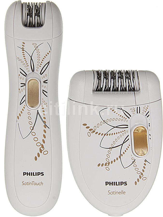 Эпилятор PHILIPS HP6540 белый [hp6540/00]