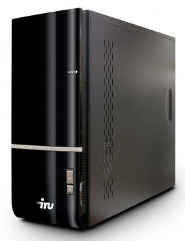 ПК iRU Home 710 Q8400/4096/ 500/HD4550-512/DVD-RW/CR/W7-S/AV/black
