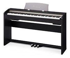 Цифровое фортепиано PRIVIA CASIO PX-730BK, 88, полновзвешенная, полноразмерные, 128, черный