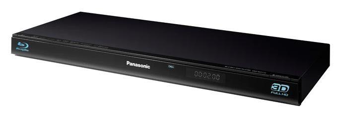 Плеер Blu-ray PANASONIC DMP-BDT110EE, черный