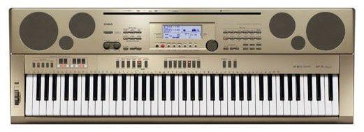 Синтезатор CASIO AT-5, 76, невзвешенная, полноразмерные, 64