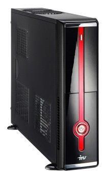 IRU Home 310,  Intel  Pentium Dual-Core  E5700,  2Гб, 500Гб,  nVIDIA GeForce GT430 - 1024 Мб,  DVD-RW,  noOS,  черный и красный