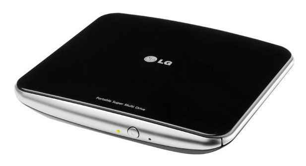 Оптический привод DVD-RW LG GP40LB10, внешний, USB, черный,  Ret [gp40lb10.auae10b]