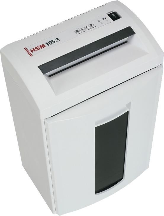 Уничтожитель бумаг HSM 105.3-3.9,  уровень 2 [1290.141]