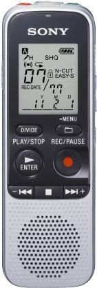 Диктофон SONY ICD-BX112 2 Gb,  серебристый [icdbx112.cev]