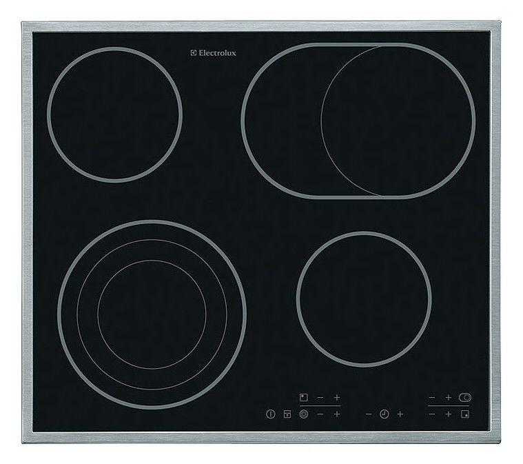 Варочная панель ELECTROLUX EHS60200X,  независимая,  черный