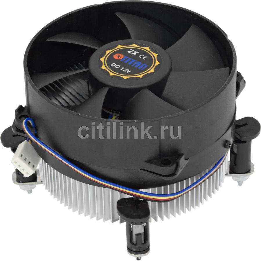 Устройство охлаждения(кулер) TITAN DC-775K925Z/RPW1,  90мм, Ret