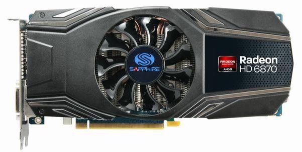 Видеокарта SAPPHIRE AMD  Radeon HD 6870 ,  1Гб, GDDR5, Ret [11179-xx-40r]
