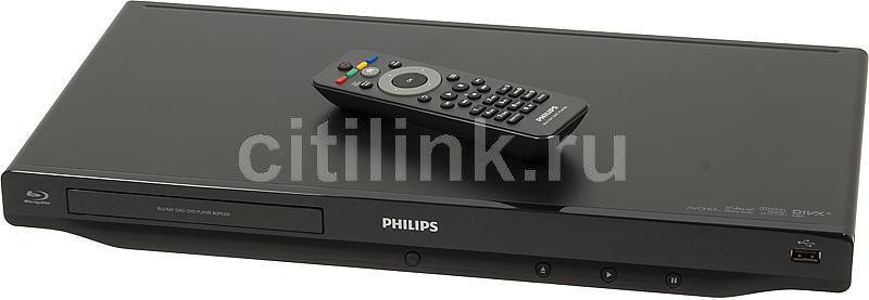 Плеер Blu-ray PHILIPS BDP3200/51, черный